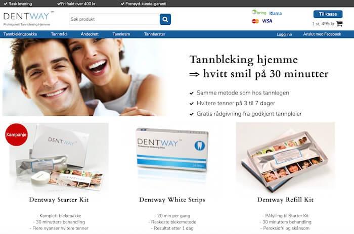 dentway tannbleking-nettside